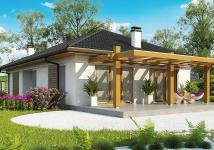 проект небольшого дома на семью из 4х человек
